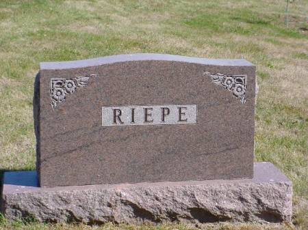 Riepe Surname Stone