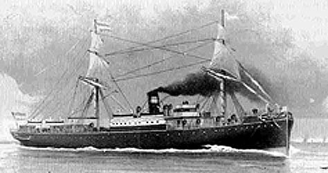 "Ship Image & Description - ""S.S. Edam"""